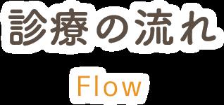 診療の流れ flow