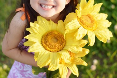 笑顔の女の子|仙台のひまわりデンタルクリニック