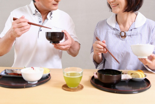 食事風景|仙台の予防歯科ひまわりデンタルクリニック